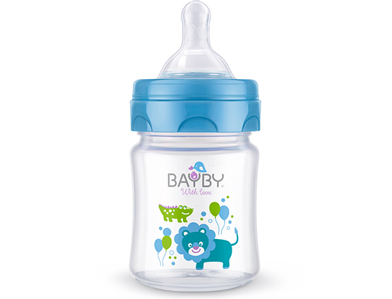 BFB 6101 Wide neck PP feeding bottle<br />120ml 0m+